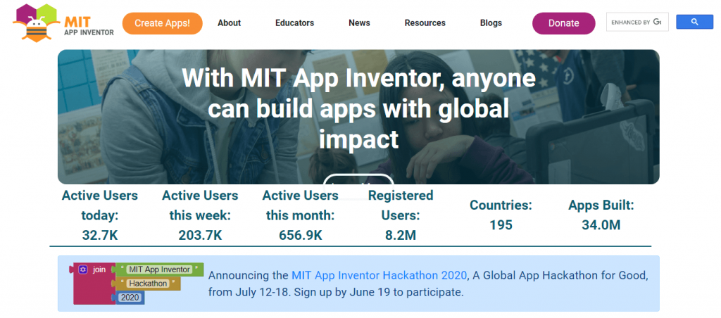 Create an Android app using MIT App Inventor