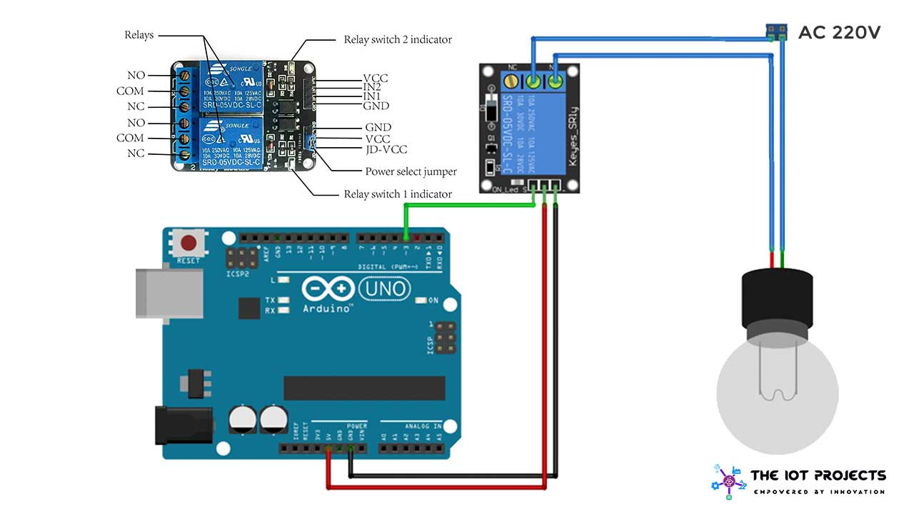 Guide for Interfacing Relay with Arduino